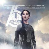 Póster español de Katniss para 'Los Juegos del Hambre: En llamas'