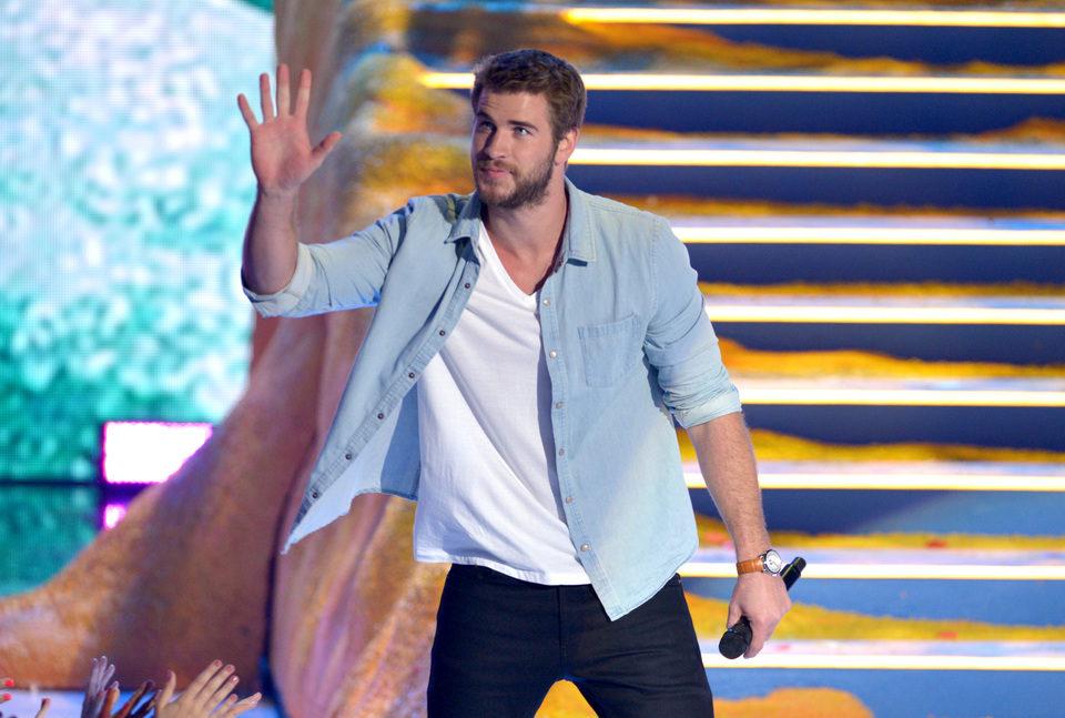 Liam Hemsworth en los Teen Choice Awards 2013