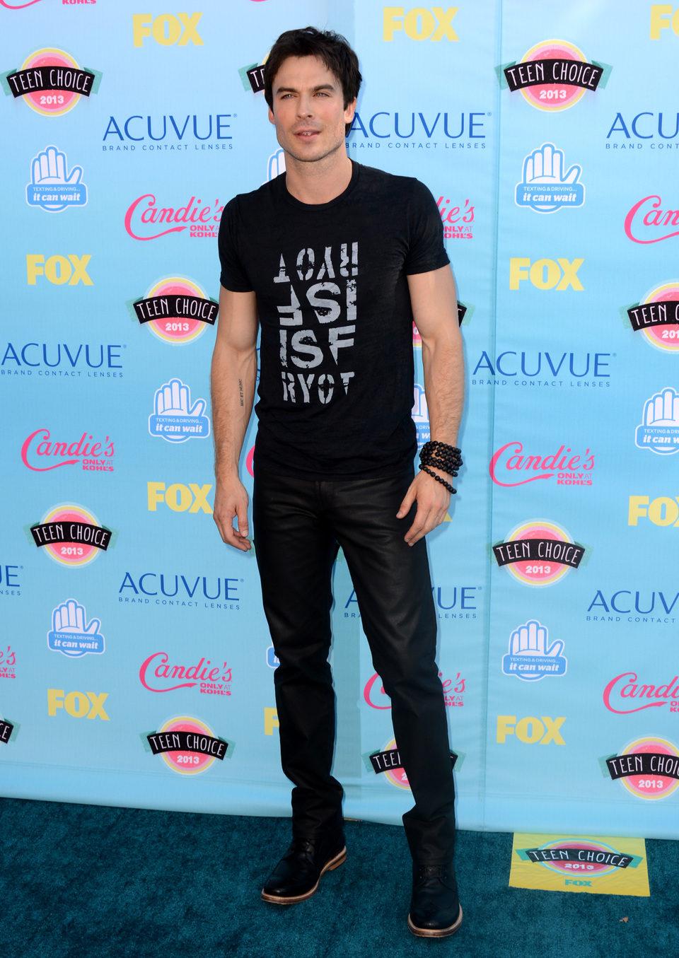 Ian Somerhalder en los Teen Choice Awards 2013