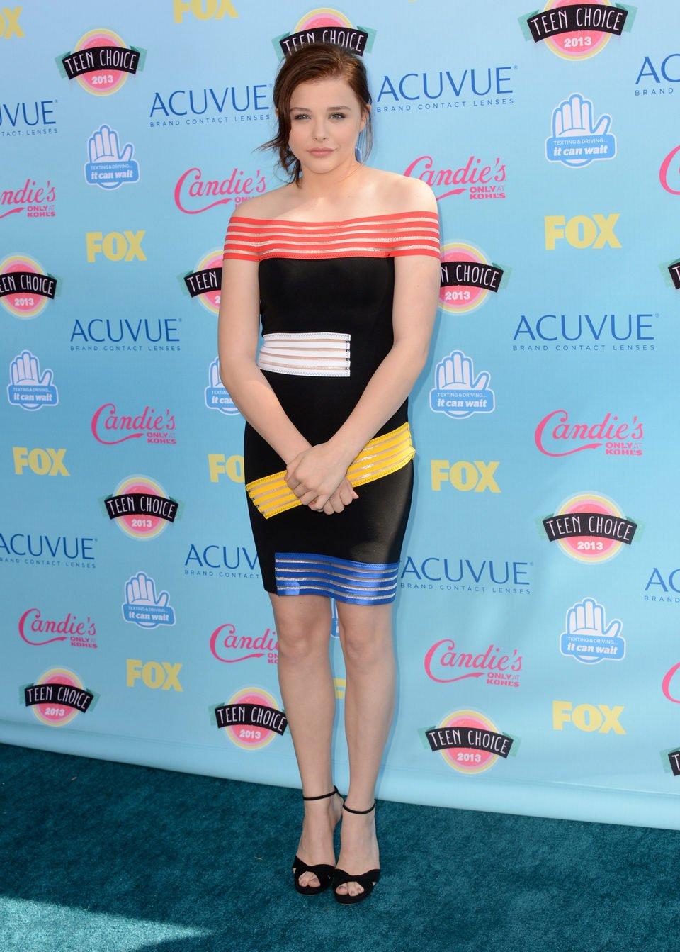 Chloë Grace Moretz en los Teen Choice Awards 2013