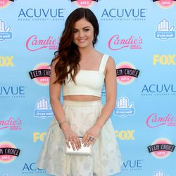 Lucy Hale en los Teen Choice Awards 2013
