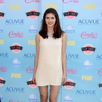 Alexandra Daddario en los Teen Choice Awards 2013