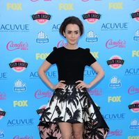 Lily Collins en los Teen Choice Awards 2013