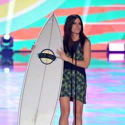 Sandra Bullock en los Teen Choice Awards 2013