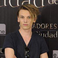 Jamie Campbell Bower en la presentación de 'Cazadores de Sombras: Ciudad de Hueso' en Madrid