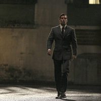 Henry Cavill en el rodaje de 'The Man From U.N.C.L.E.'