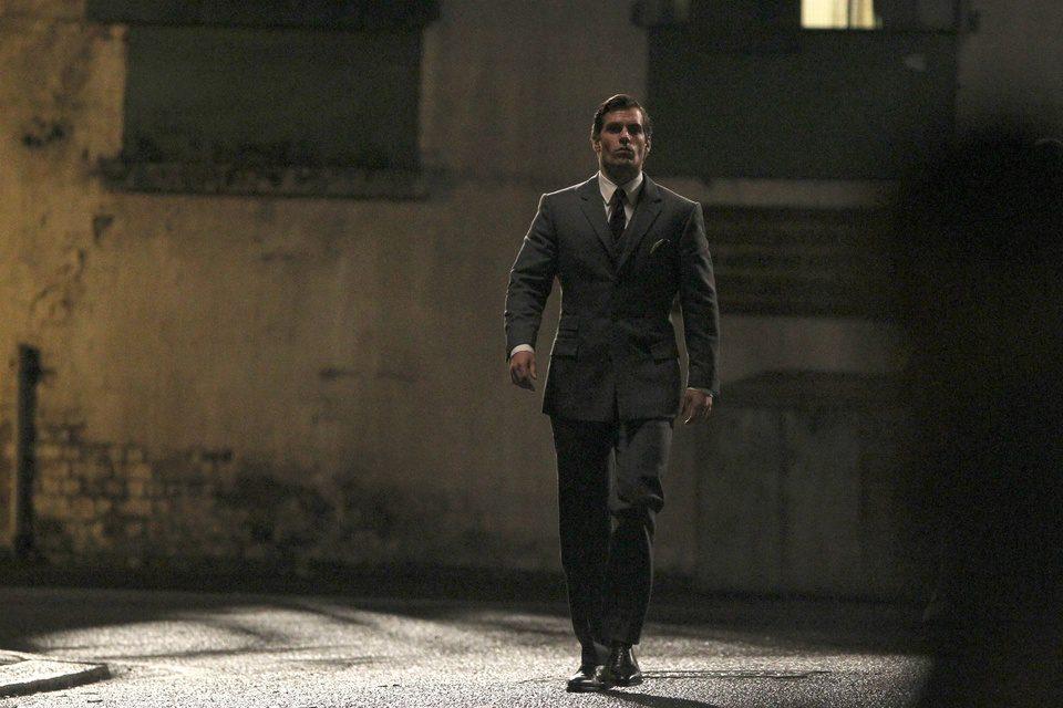 Henry Cavill en el rodaje de \'The Man From U.N.C.L.E.\', Tamaño ...