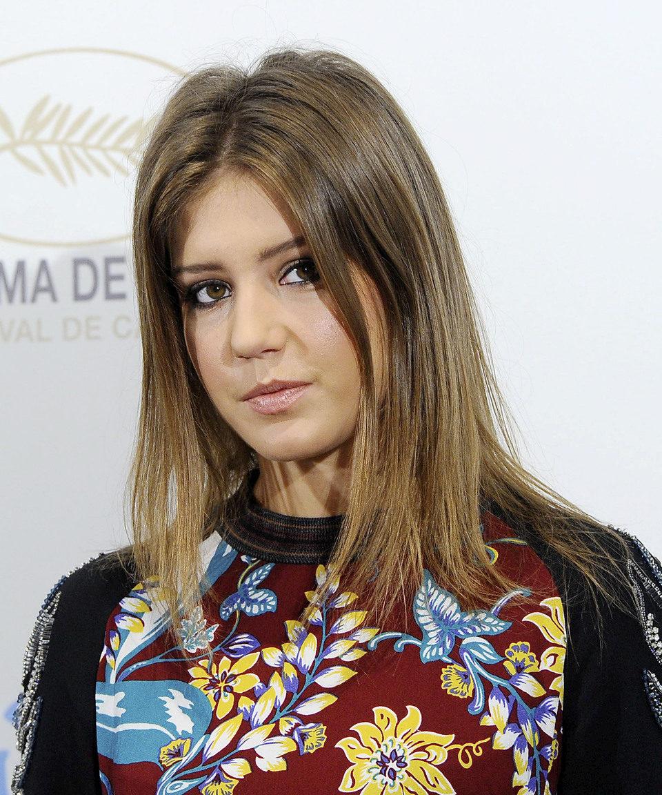 Adèle Exarchopoulos en la presentación de 'La vida de Adèle' en Madrid