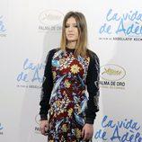 Adèle Exarchopoulos posa para los medios en la presentación de 'La vida de Adèle' en Madrid