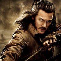 Póster de Luke Evans en 'El Hobbit: La desolación de Smaug'