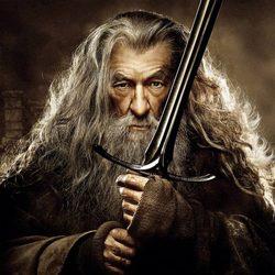 Póster de Ian McKellen en 'El Hobbit: La desolación de Smaug'