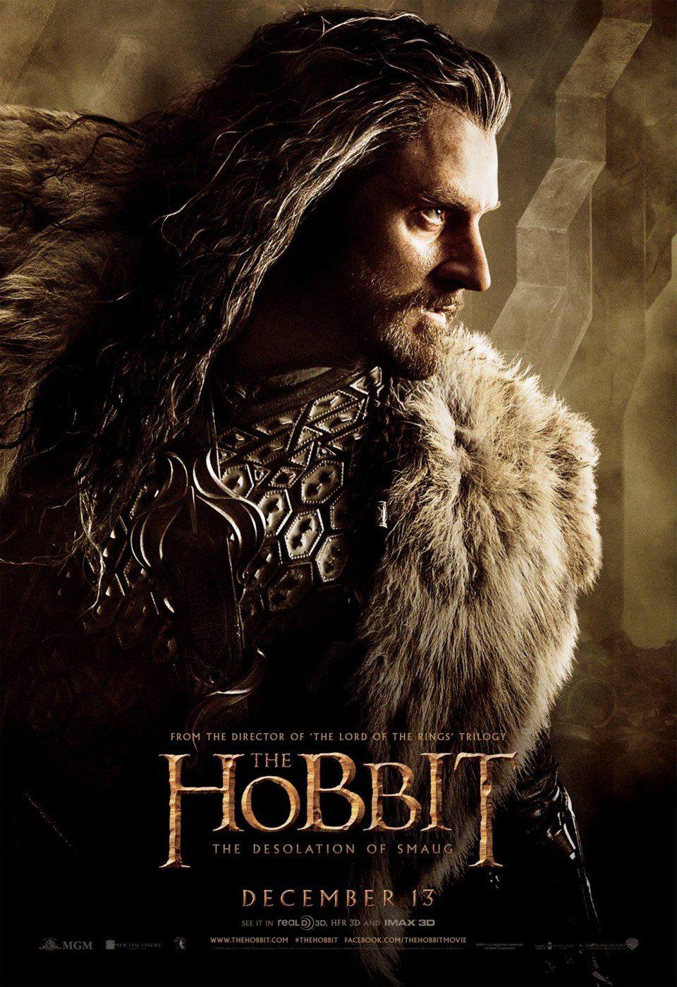 Póster de Richard Armitage en 'El Hobbit: La desolación de Smaug'