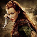 Póster de Evangeline Lilly en 'El Hobbit: La desolación de Smaug'