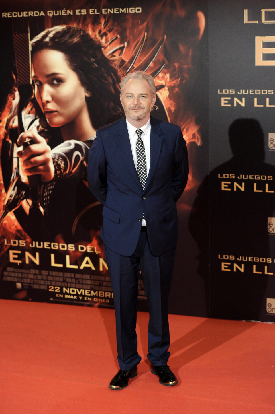 Francis Lawrence en la premiere de 'Los Juegos del Hambre: En llamas' en Madrid