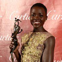 Lupita Nyong'o en la gala de premios del Festival Internacional de Palm Springs