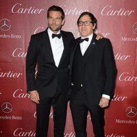 Bradley Cooper y David O. Russell en la gala de premios del Festival Internacional de Palm Springs