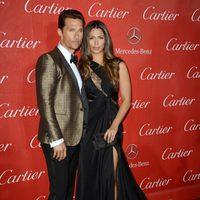 Matthew McConaughey y Camila Alves en la gala de premios del Festival Internacional de Palm Springs