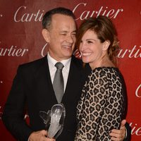 Tom Hanks y Julia Roberts en la gala de premios del Festival Internacional de Palm Springs