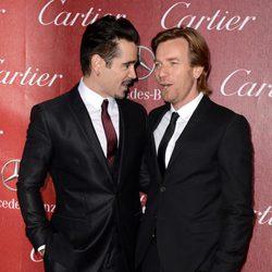 Colin Farrell y Ewan McGregor en la gala de premios del Festival Internacional de Palm Springs