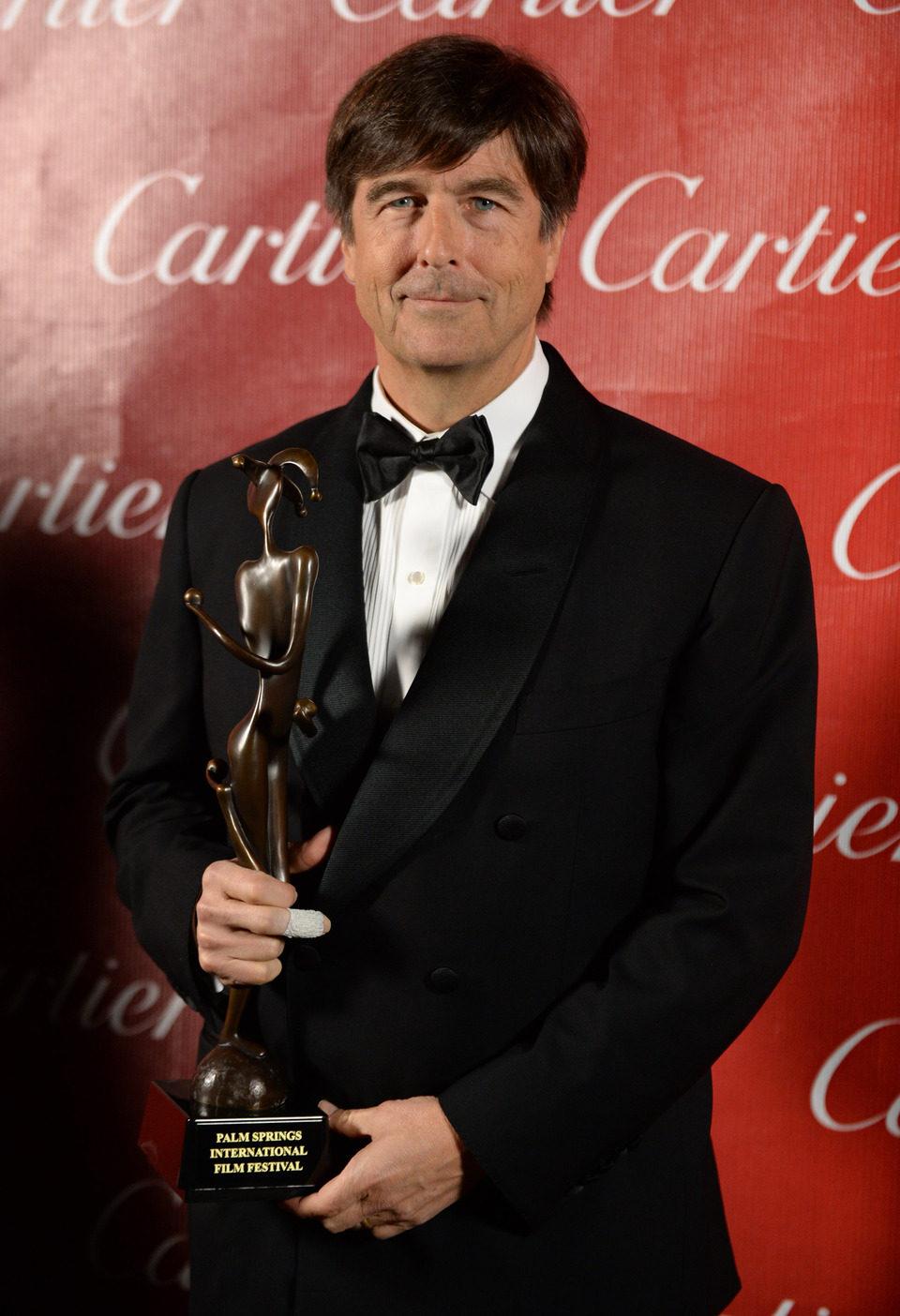 Thomas Newman en la gala de premios del Festival Internacional de Palm Springs
