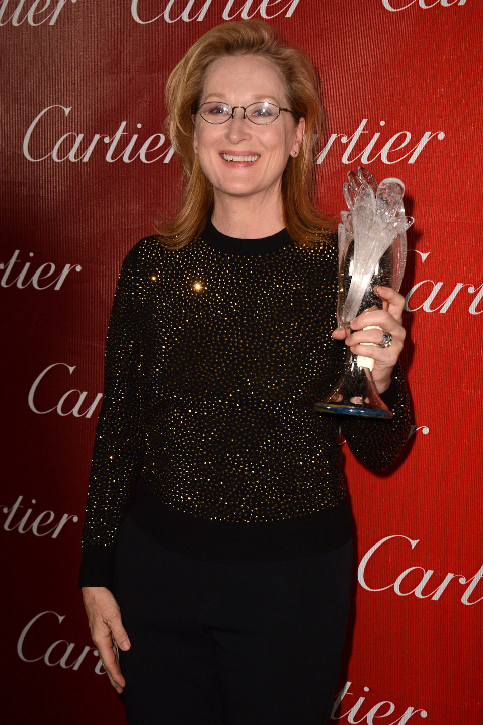 Meryl Streep en la gala de premios del Festival Internacional de Palm Springs