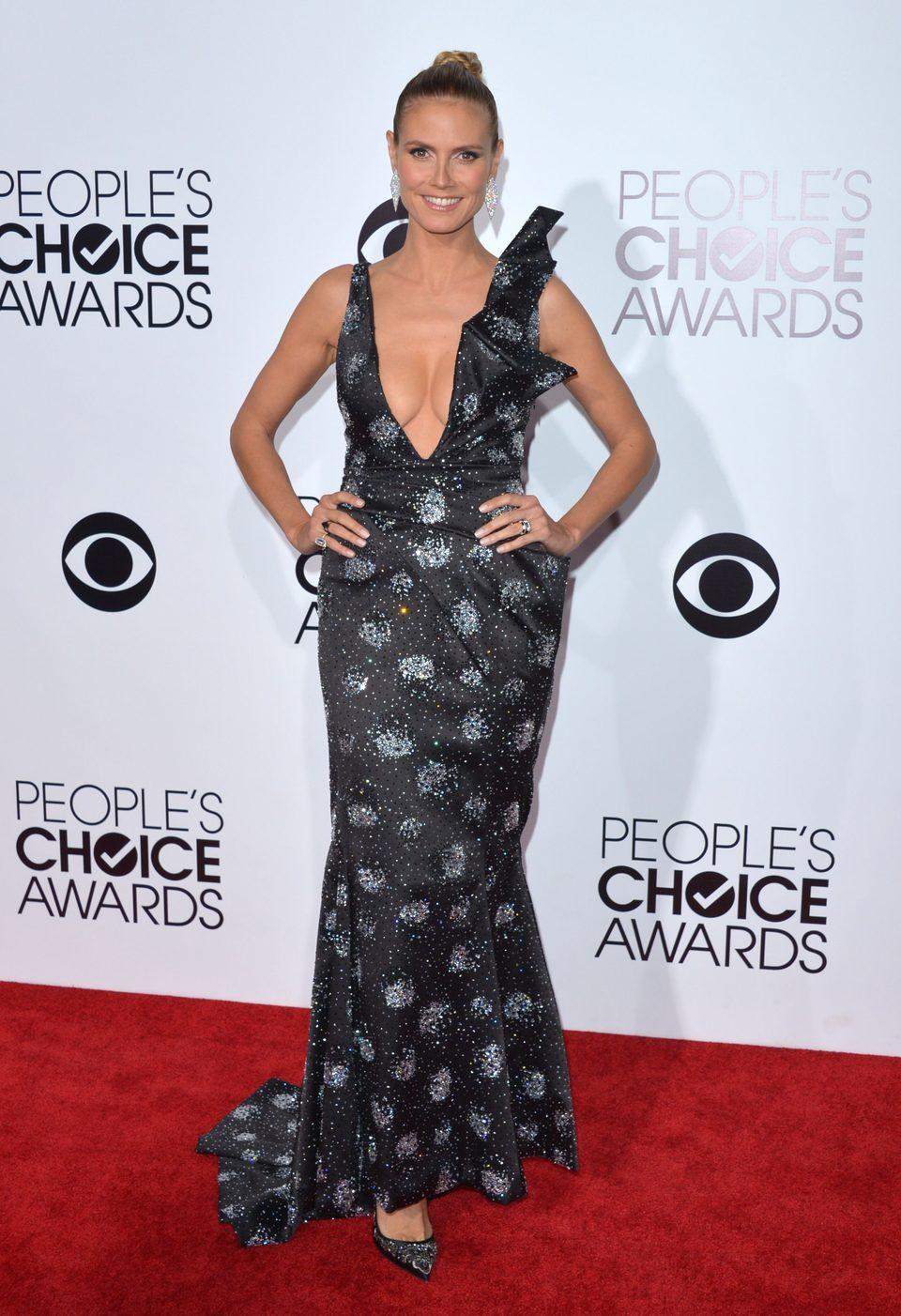 Heidi Klum en los People's Choice Awards 2014