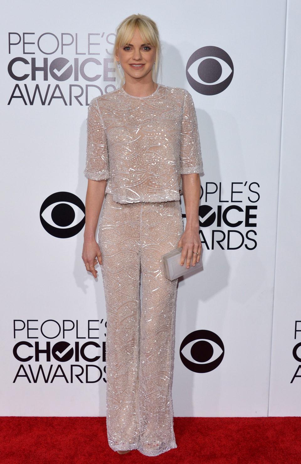 Anna Faris en los People's Choice Awards 2014