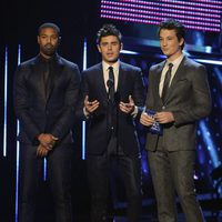 Michael B. Jordan, Zac Efron y Miles Teller en los People's Choice Awards 2014
