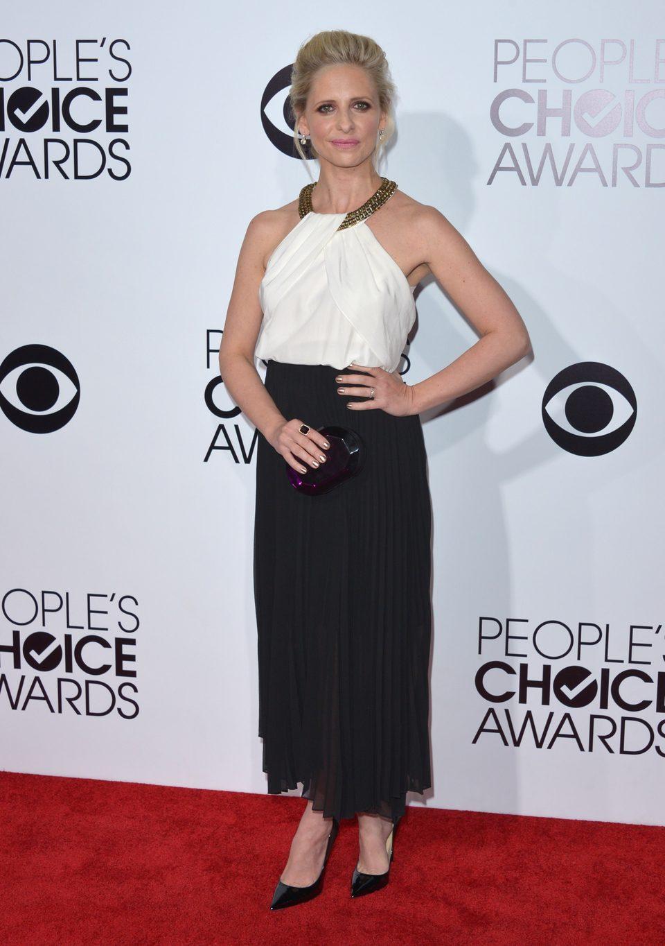 Sarah Michelle Gellar en los People's Choice Awards 2014