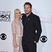 Anna Faris y Chris Pratt en los People's Choice Awards 2014