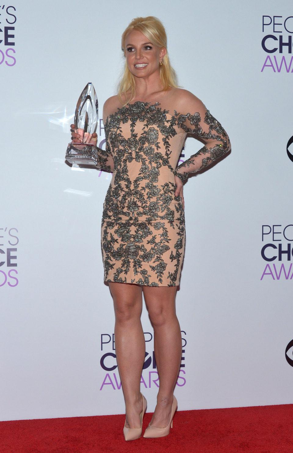 Britney Spears en los People's Choice Awards 2014