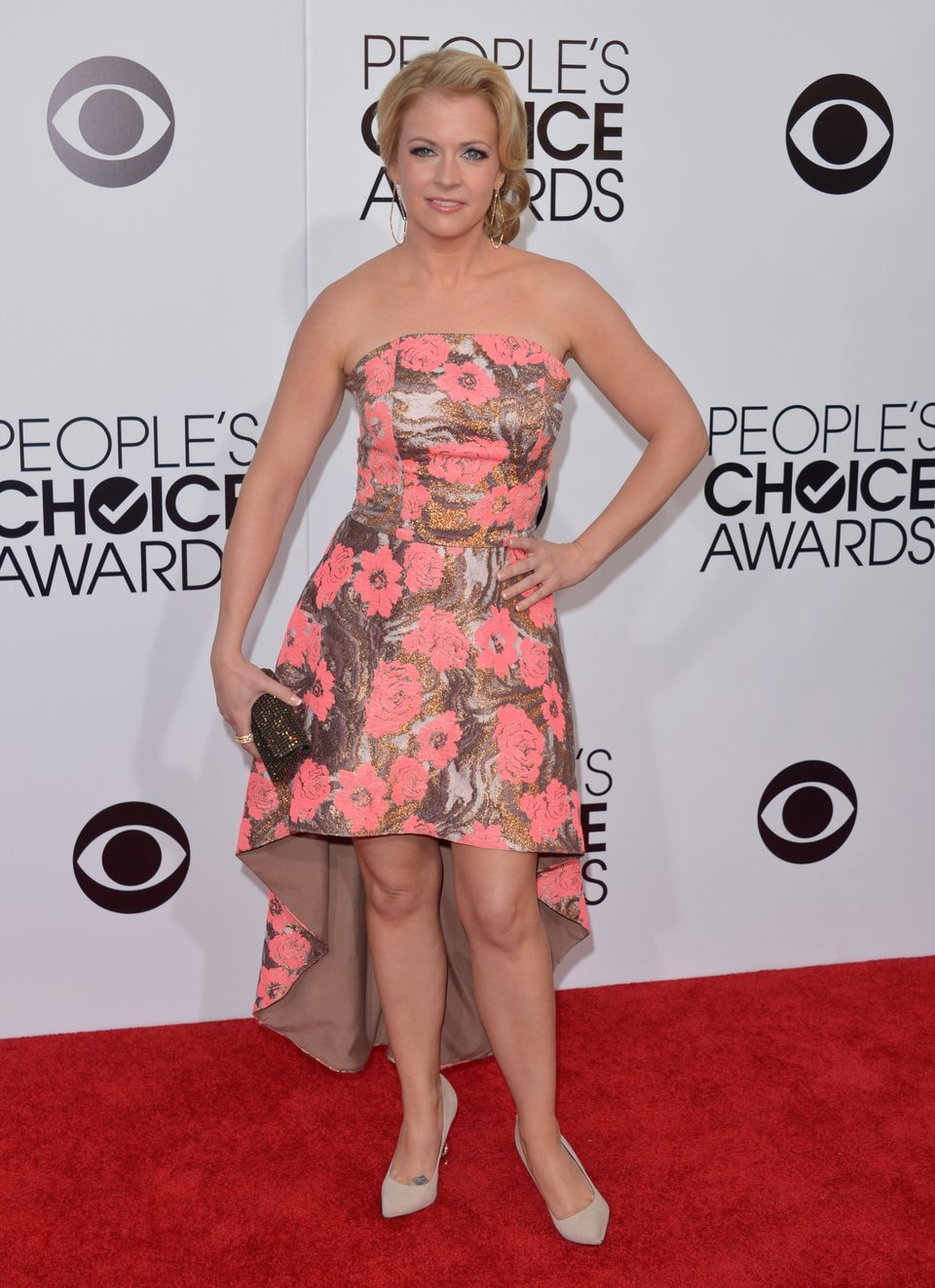 Melissa Joan Hart en los People's Choice Awards 2014