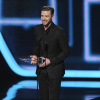 Justin Timberlake en los People's Choice Awards 2014