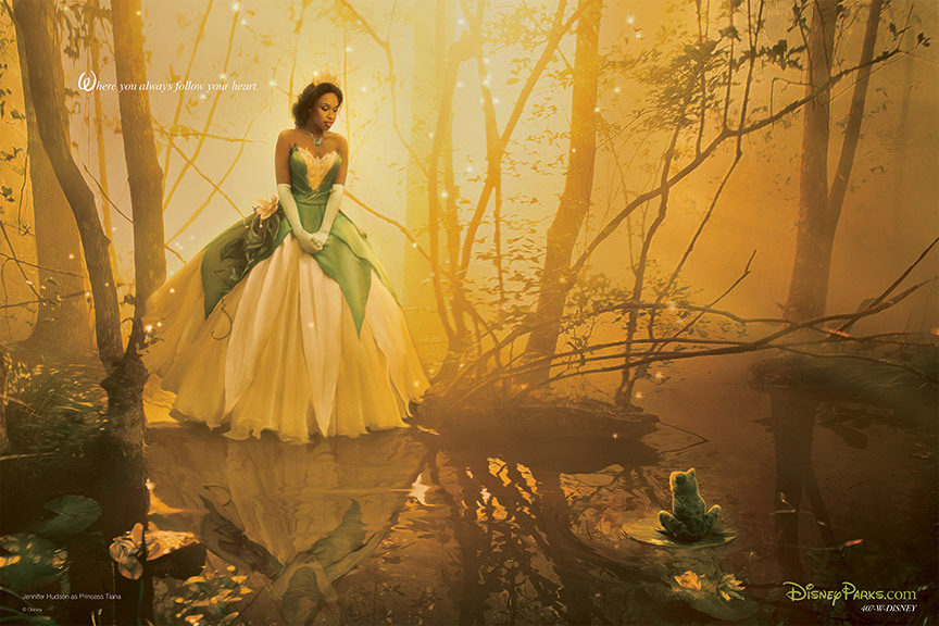 Jennifer Hudson como Tiana en 'Tiana y el sapo'