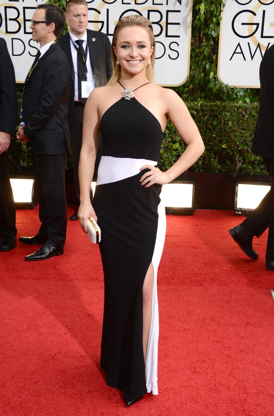 Hayden Panettiere en los Globos de Oro 2014
