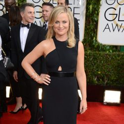 Amy Poehler en los Globos de Oro 2014