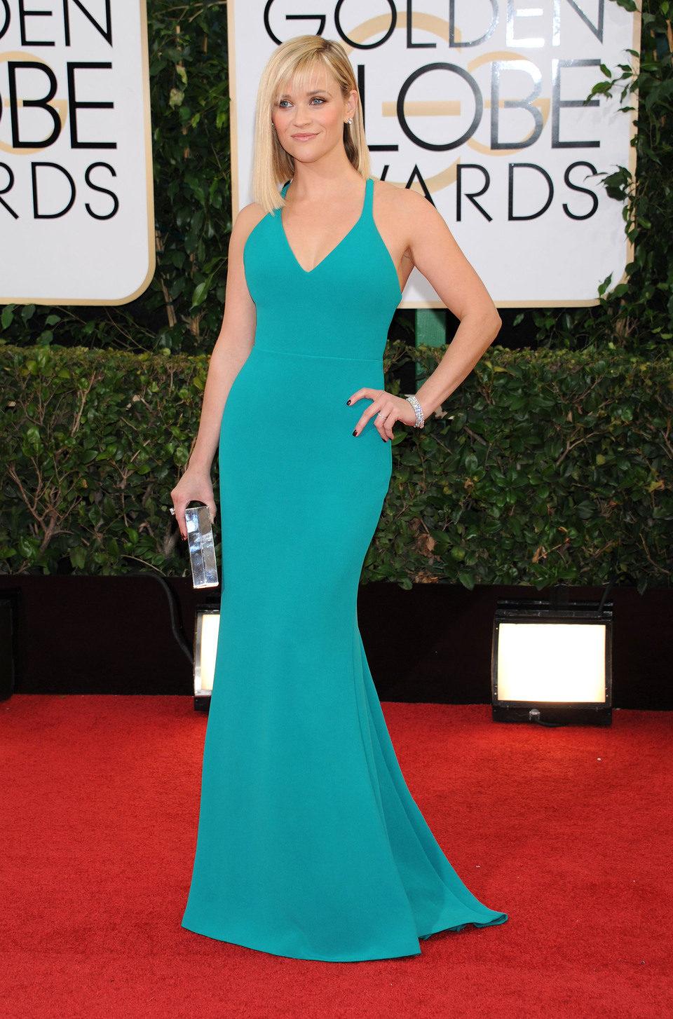 Reese Witherspoon en los Globos de Oro 2014
