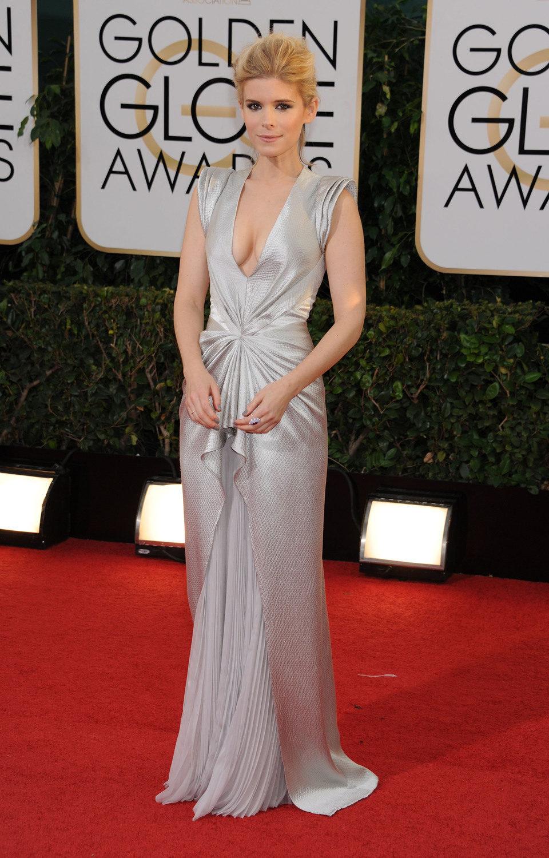 Kate Mara en los Globos de Oro 2014