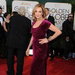 Jessica Lange en los Globos de Oro 2014