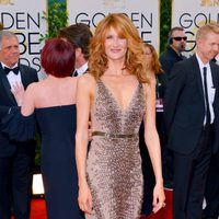 Laura Dern en los Globos de Oro 2014