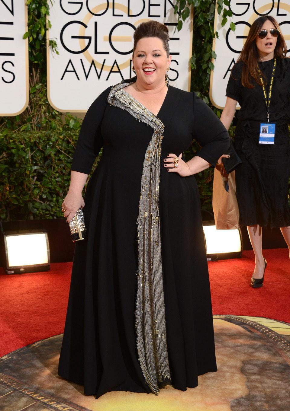 Melissa McCarthy en los Globos de Oro 2014