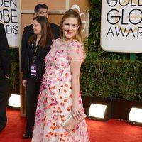 Drew Barrymore en los Globos de Oro 2014
