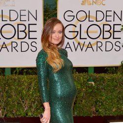 Olivia Wilde en los Globos de Oro 2014