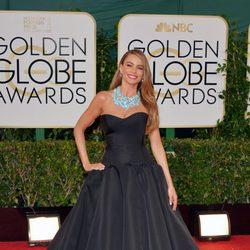 Sofia Vergara en los Globos de Oro 2014