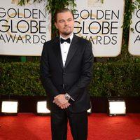 Leonardo DiCaprio en la alfombra roja de los Globos de Oro 2014