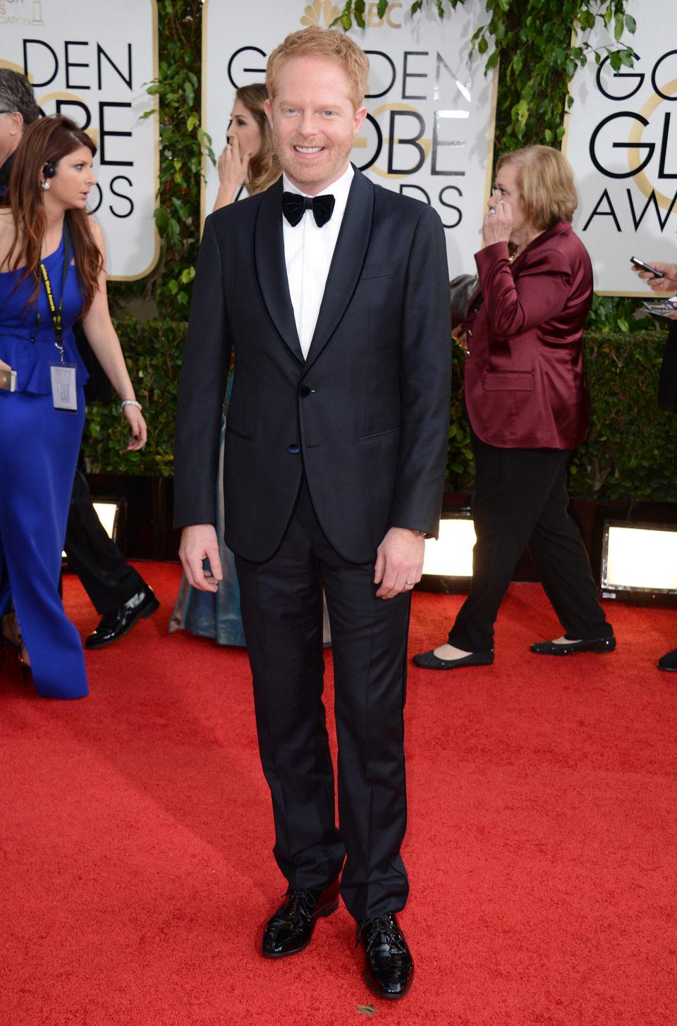 Jesse Tyler Ferguson en los Globos de Oro 2014