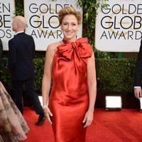 Edie Falco en los Globos de Oro 2014