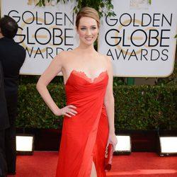 Kristen Connolly en los Globos de Oro 2014