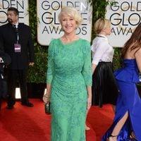 Helen Mirren en los Globos de Oro 2014