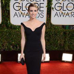 Emma Roberts en los Globos de Oro 2014